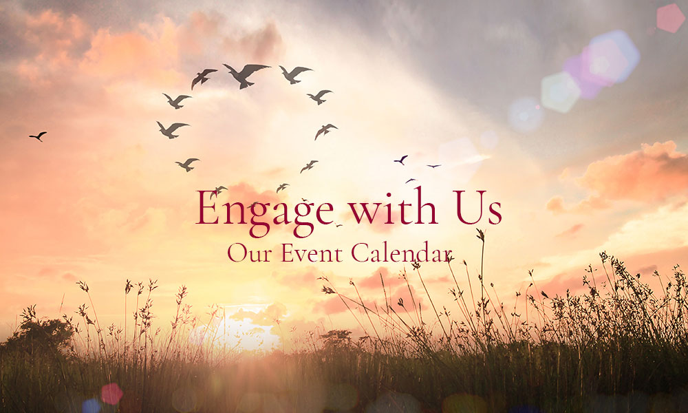 Center of the 7 Rays Engage Event Calendar